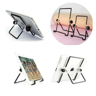 Multi angle non-slip foldable stand holder for ipad / phone