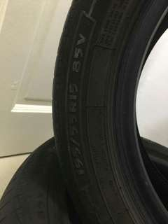 "Used Silverstone 15"" tires for sale"