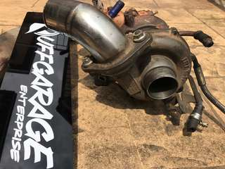 IHI TURBO UPGRADE + MANIFOLD PIPING B8 210