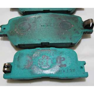 Project MU Bestop Front F174 Toyota Brake Pads 90% (Fits Mark X, Camry, ISIS, Crown, Majesta)