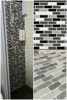 Diy Self Adhesive Wall Tiles/ Contact Paper