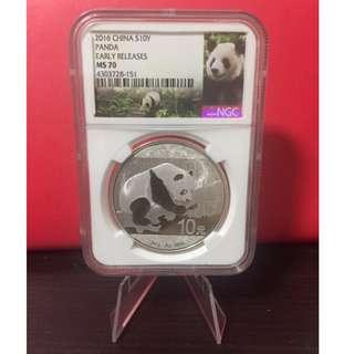 Panda 2016 1oz .999 Silver