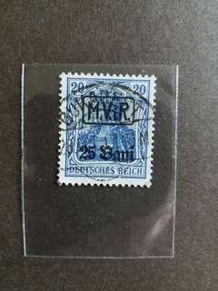 納粹德國郵票已銷郵票a002
