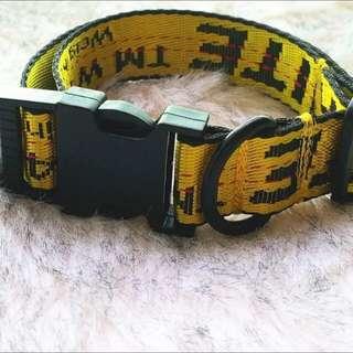 💥popular choice💥 Off white Dog collar
