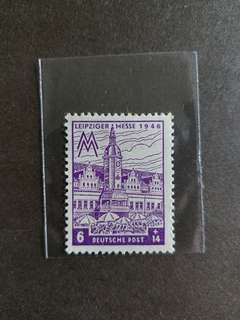 德國郵票 全新 1946年二戰後郵票