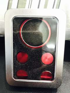 🚚 Infinity 車內裝飾G25/QX50/QX70旋轉鈕四顆