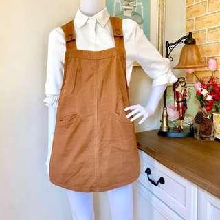 Brown Jumper Skirt