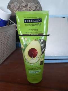 (REPRICE) Freeman mask avocado 70%