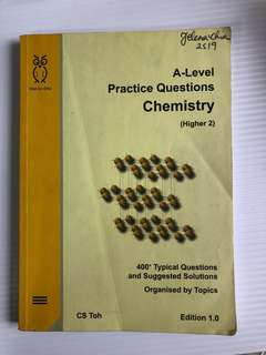 A level h2 Chemistry practice questions assessment book