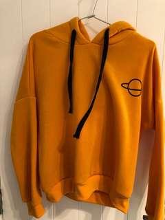 Orange crop hoodie