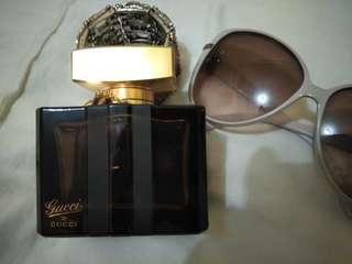 GUCCI EAU de parfum 75ml Authentic 💯 50%full