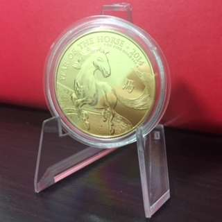 UK Lunar Horse 1oz .999 gold