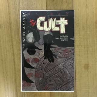 Batman- The Cult mini-series book 1