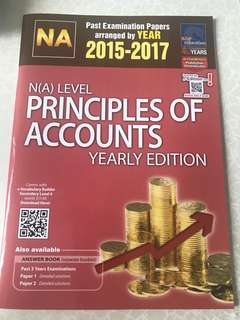 N(A) Level Principles Of Account Book