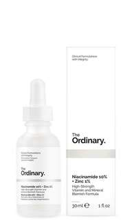 The Ordinary Niacinamide 10% + Zinc