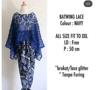 Batwing lace set (Code: LOLLI)