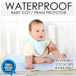 BEDDING - Waterproof Baby cot Protector Diaper Changing Pad