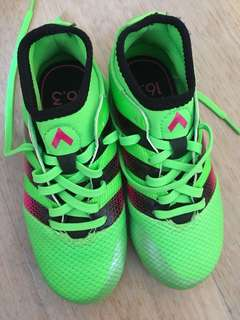 Adidas kids soccer boots