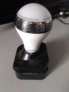 Smartled bluetooth bulb speaker