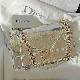 Diorama Deerskin Bag Dior  (not #chanel #hermes #celine #gucci )