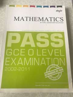 Mathematics By Topic Assessment Book (O Level)