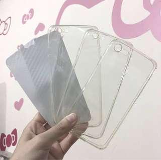 3個全新iphone6/6s透明全包手機軟殼