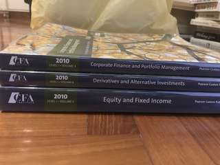 Cfa level 1 books