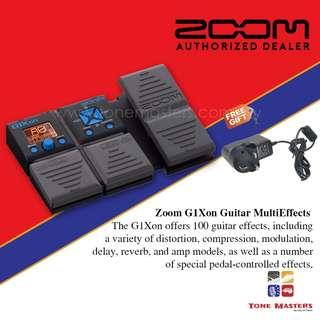 ZOOM G1Xon Electric Guitar Multieffects Processor