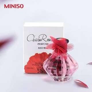 "PARFUME MINISO JAPAN ""CHARM ROMANCE"" NEW"