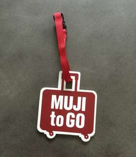 MUJI Travel Luggage Tag