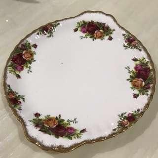 """Royal Albert 10"""" Cake Plate"""