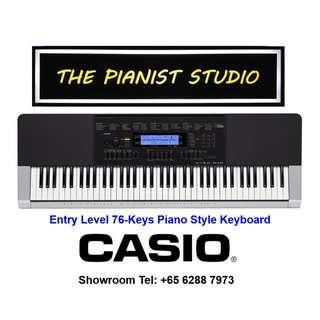 THE PIANIST STUDIO   Casio Keyboard 76 Keys WK-240 Singapore Sale!