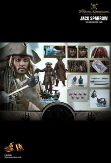 Hottoys DX15 Jack Sparrow