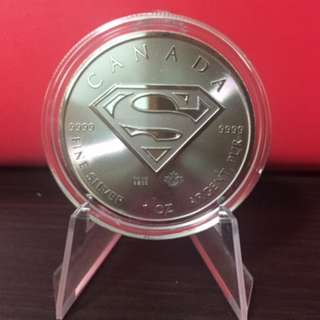 SUPERMAN™ 2016 1 oz .999 Silver