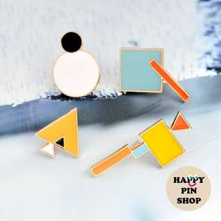 Shapes R Us Pins (Graphic Shapes series)