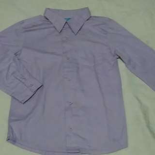 Violet Formal Long Sleeves Polo