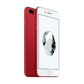 kredit iphone 7 plus 256 GB red new prose 3 menit langsung bawa pulang