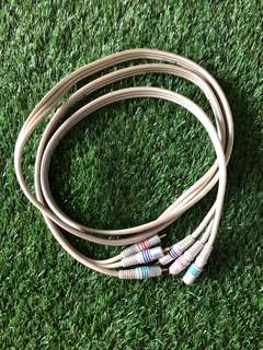 Daiyo component cable rca