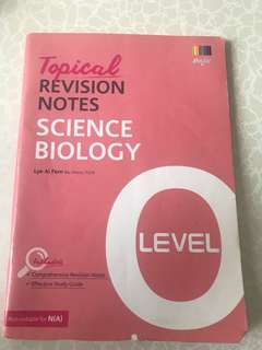 Topical Revision Notes (Science Biology)