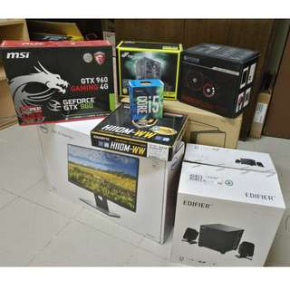 PC GAMING FULL SET WITH IPS MONITOR