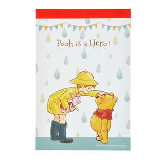 Japan Disneystore Disney Store Pooh & Friends Story Sticky Note Pad