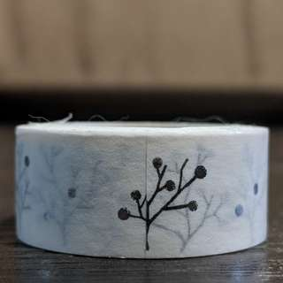 [BN] Washi Tape (Silver Trees)
