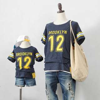 ☑️ INSTOCKS 3-15Y Kids Brooklyn Shirt G21041A (Mother size available)