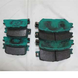 Project MU Bestop Front F174 & Rear R191 (Pair) Toyota ACV30 Camry (2001-2006) Brake Pads 90%