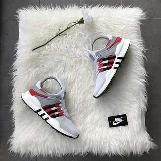 📌 ADIDAS EQT WHITE RED 📌