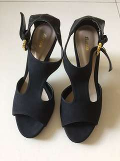 Bata black heels size 6