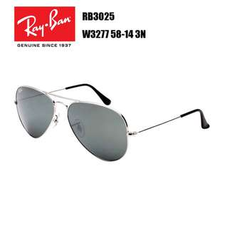 Ray-Ban AVIATOR LARGE METAL RB3025 W3277 58-14 3N