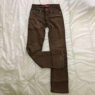 Bum Equipment Brown Jeans