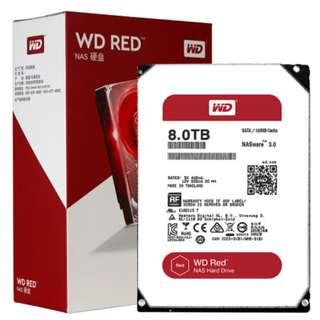 Western Digital Red NAS 2TB/4TB/6TB/8TB