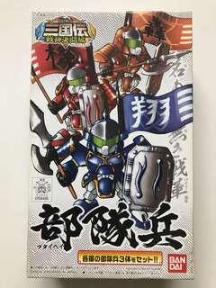 Bandai Sangokuden Gundam Military Soldier Unit
